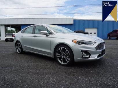 Certified 2019 Ford Fusion Titanium - 597279317