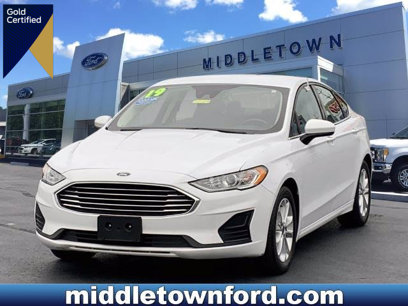 Certified 2019 Ford Fusion SE - 604196770