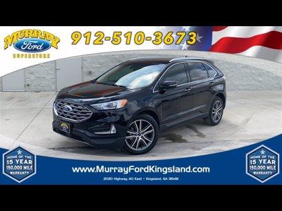 Certified 2019 Ford Edge Titanium - 603946287