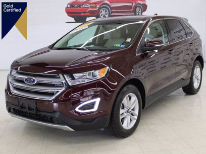 Certified 2018 Ford Edge SEL - 593632716